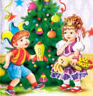 Сценарии Нового года для малышей