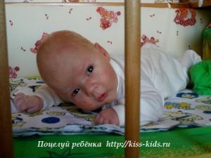 Навыки и умения малыша в возрасте один месяц
