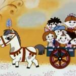 Пони бегает по кругу Мультфильм