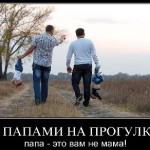Папа на прогулке (видео-юмор)