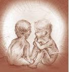 Притча Два младенца