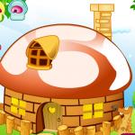 Укрась домик-гриб Флэш-игра
