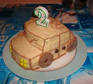 Торт своими руками для ребенка рецепт с фото