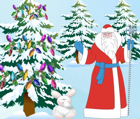 Зимняя азбука Дедушки Мороза