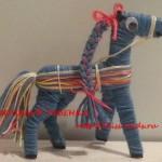 Новогодняя лошадка Поделка своими руками