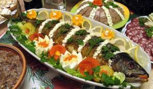 Рыба по-царски Традиционные рождественские блюда