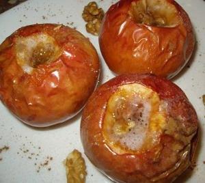 Яблоки печенные Традиционные рождественские блюда